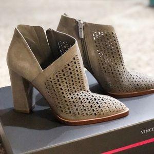 Vince Camuto grey booties